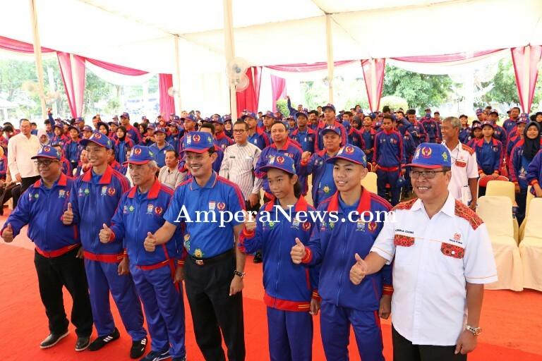Yakin Juara Umum, Walikota Harap Atlet Bawa Nama Baik Palembang