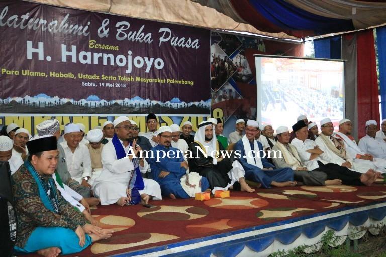 Harno-Fitri Rangkul Ulama Bangun Palembang