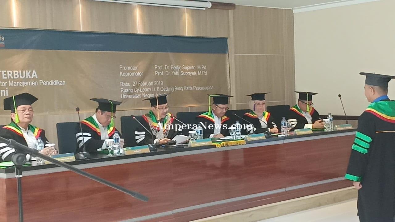 Afriantoni Direktur ICA Raih Gelar Doktor di Universitas Negeri Jakarta