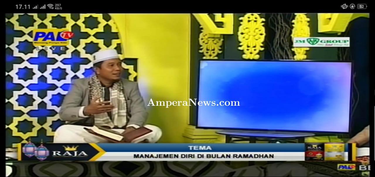 Riza Pahlevi : Cerdas Manajemen Diri Saat Ramadhan