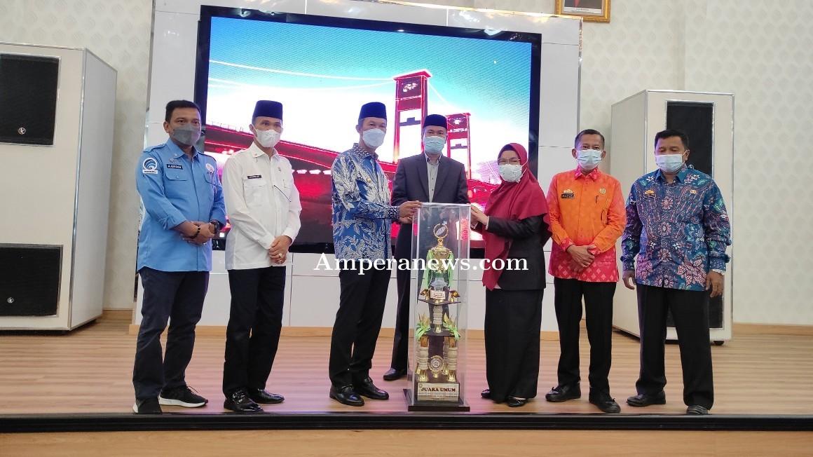 Disambut Usai Juara Umum STQH Sumsel, Harnojoyo Apresiasi Kerja Keras Kafilah Palembang